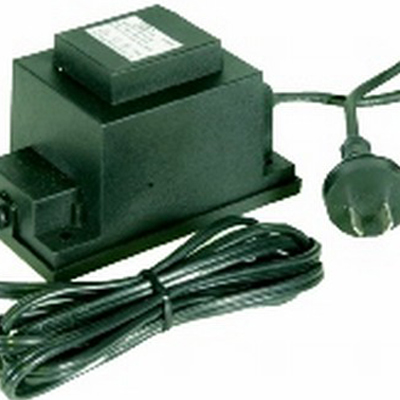 24v outdoor rated transformer for our colour mix led strings this also includes a rectifier cable to connect the first set of lights in static constant